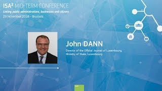 ISA² Mid-Term Conference - John Dann thumbnail