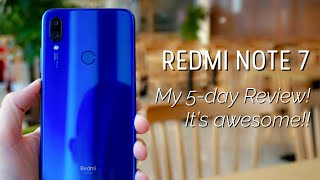 Redmi Note 7 48MP: Full 5-day Review!! Everything You Need to Know! Gaming, Camera, Video Samples.