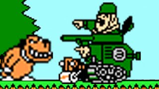 Wacky Races (NES) All Bosses (No Damage)
