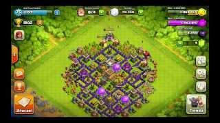 Clash of clans Mejor diseño ayuntamiento nivel 8 (para trofeos)
