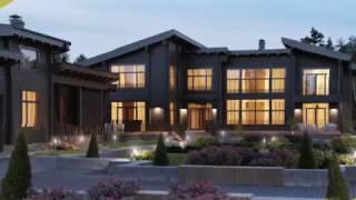 видео Двухэтажные дома из клееного бруса