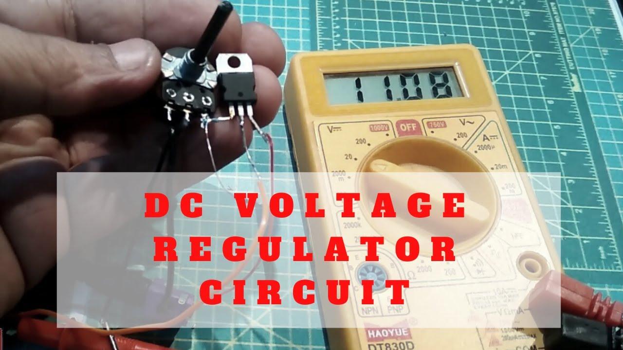 Dc Voltage Regulator Circuit In Hindi