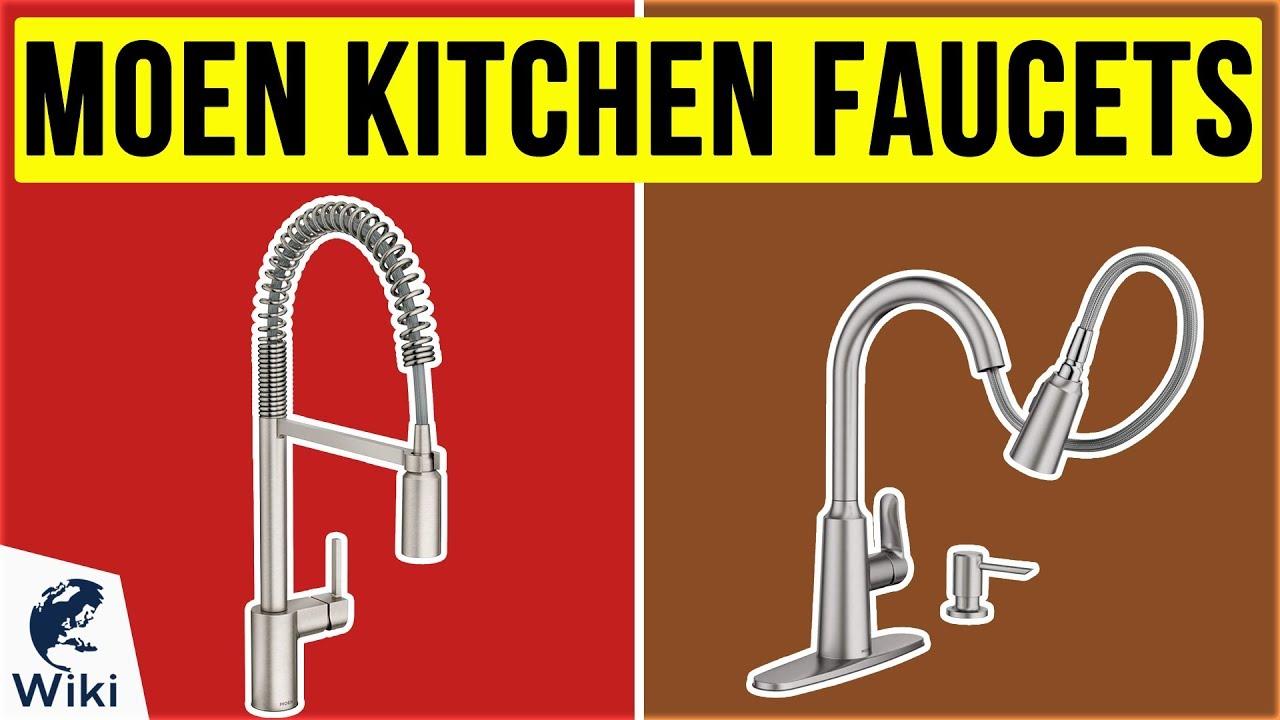 10 best moen kitchen faucets 2020