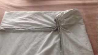 Как можно сложить простынь на резинке(Мой способ)), 2013-02-15T16:59:25.000Z)