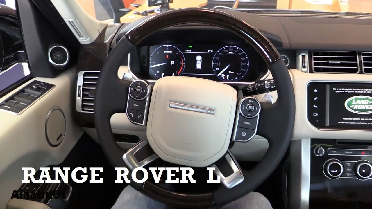 Range Rover Interior >> 2017 Land Rover Range Rover L Interior Review Youtube