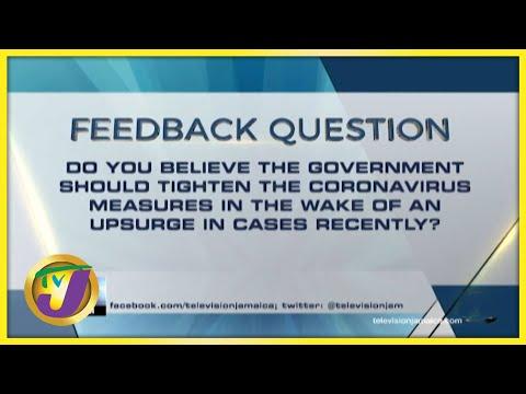 Feedback Question   TVJ News - July 23 2021