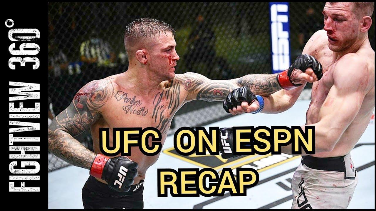 UFC On ESPN 12 Recap: FOTY? Poirier vs Hooker Post Fight Results & Highlights