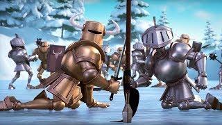 Маша и Медведь  - Вот такой хоккей! ⚔ (Битва)