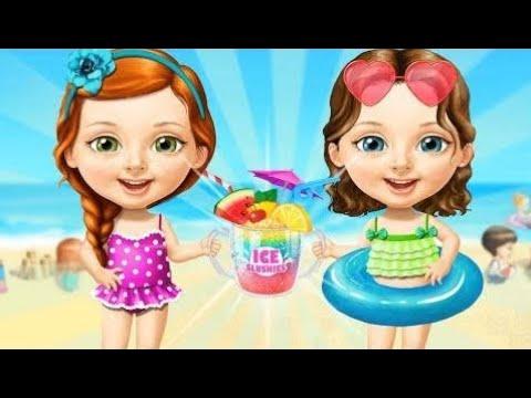 dulce-bebé-niña-verano-divertido-juego-video---diversión-cuidado-niños-juego---diversión-juego-de-c