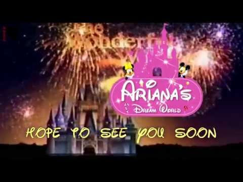 Birthday Invitation Video Theme Disney World