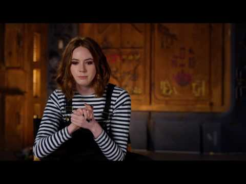 "Guardians of the Galaxy Vol. 2: Karen Gillan ""Nebula"" Behind the Scenes Movie Interview"