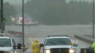 Texas Flood Waters Deluge 18 Counties