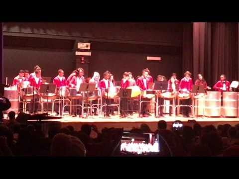 Philippa Schuyler Middle School for the G&T- I.S. 383 - Major Steelpan One Dance