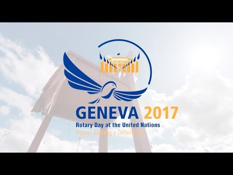 Invitation to the Rotary Day 2017 at the United Nations Office in Geneva
