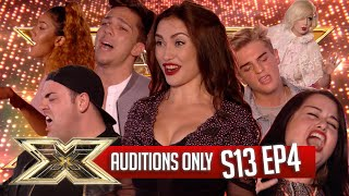 AUDITIONS ONLY! | EPISODE 4 | SERIES 13 | The X Factor UK