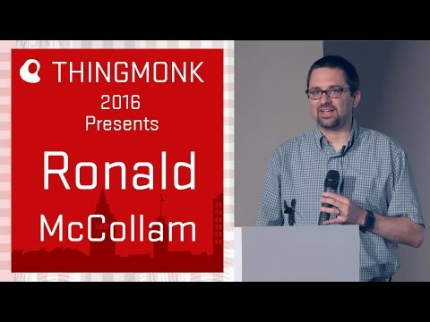 ThingMonk 2016 -  Ronald McCollam - resin.io end-to-end or bust