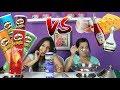 PRINGLES CHALLENGE Flavors Extreme Potato Chip Tasting Contest mp3