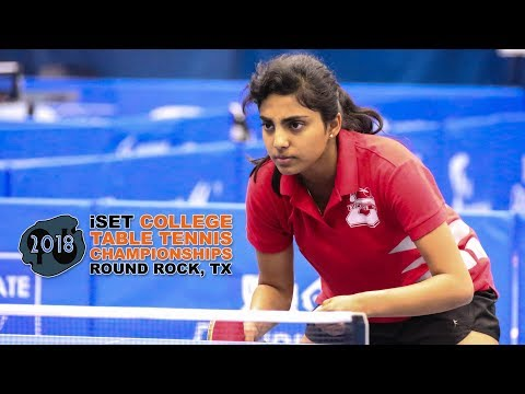 Top 10 Points From 2018 ISet College Table Tennis Championships