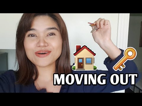 MOVING OUT | #ADULTING With Trish