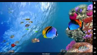 3D Occean live wallpaper