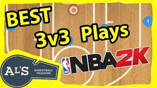 Best 3v3 Basketball Plays for NBA 2K Blacktop