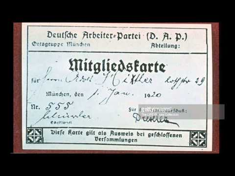 12th September 1919: Hitler joins the German Workers Party