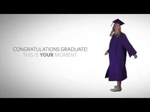 How to Wear Your High School Cap and Gown - YouTube