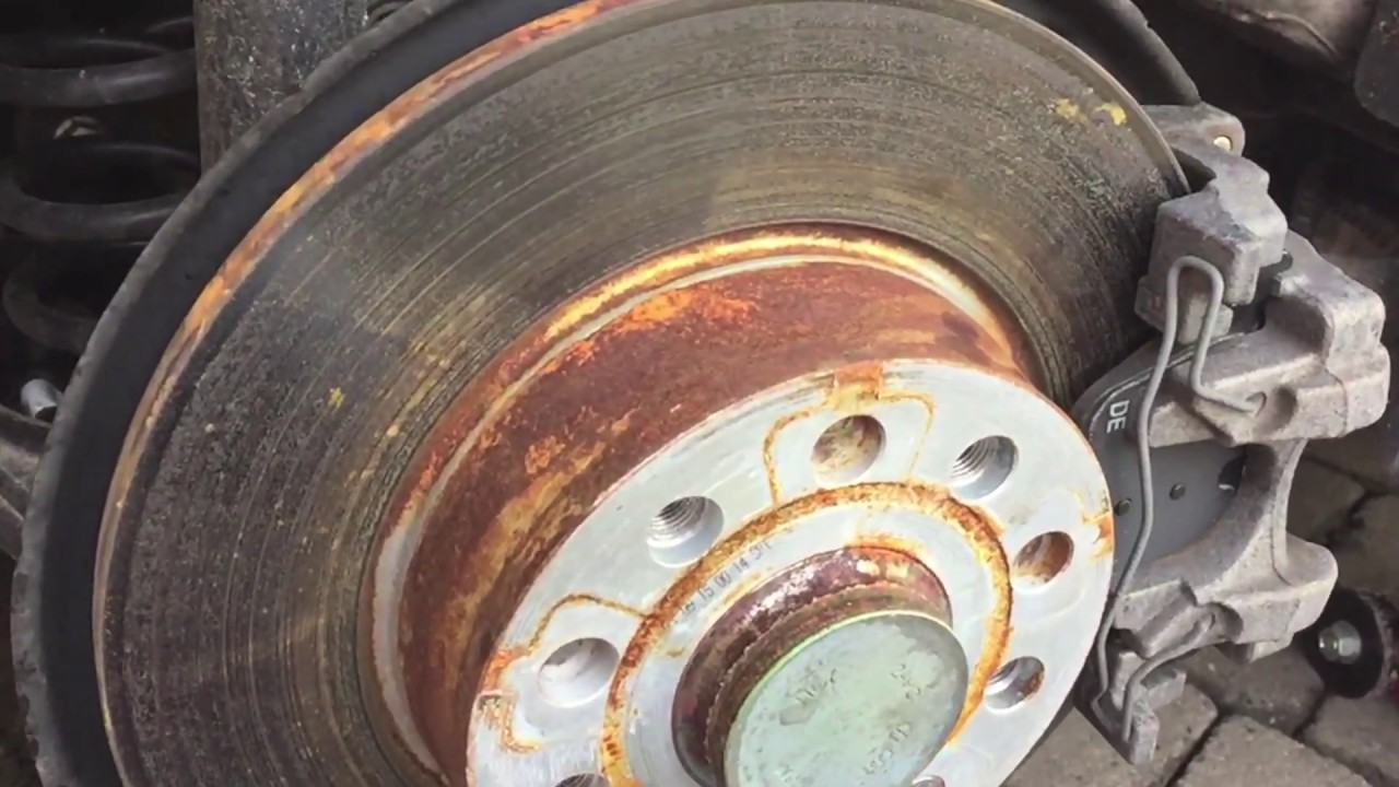 Fixing My Golf Gtd S Rusty Wheel Hubs Youtube
