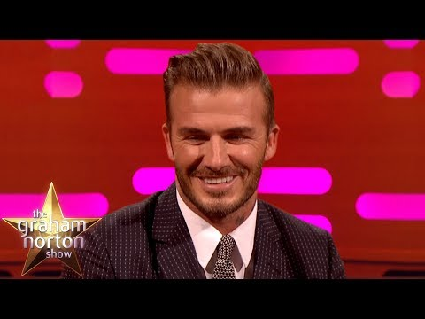 David Beckham Is Embarrassed At Being The SEXIEST MAN ALIVE | The Graham Norton Show Mp3