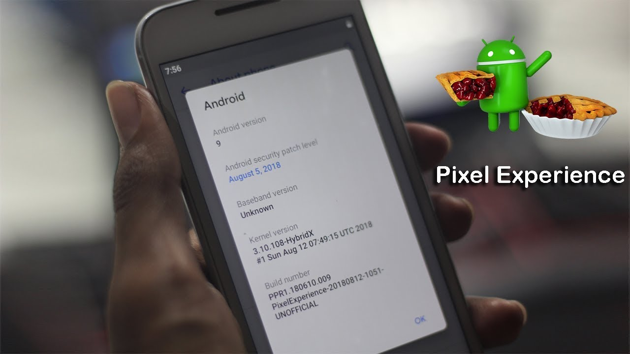 Android 9 Pie Pixel Experience Rom For Moto G 3rd Gen