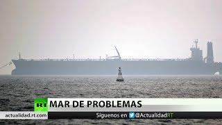 Irán incauta un petrolero extranjero por contrabando de petróleo con 12 tripulantes