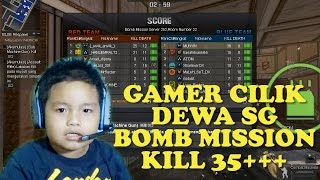 Gamer Cilik - Dewa SG Bomb Mission - Point Blank