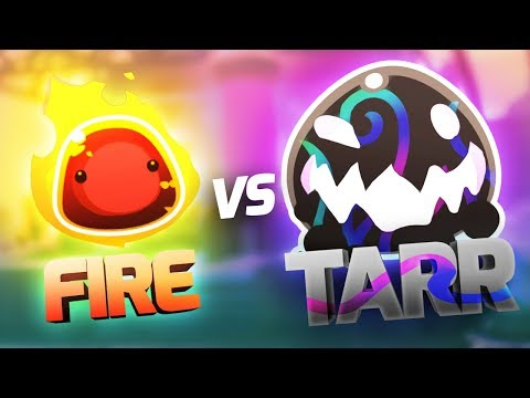 CAN FIRE SLIMES HURT THE TARR? - Slime Rancher 1.1.0 Full Version Gameplay Part 20
