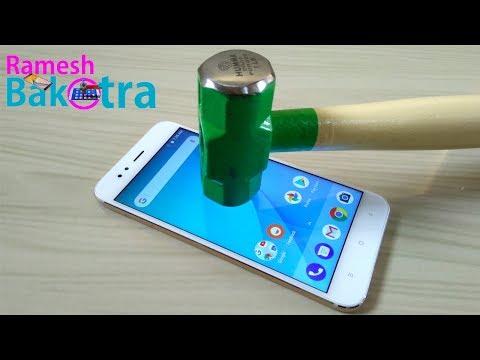 Xiaomi Mi A1 Screen Scratch Test Gorilla Glass