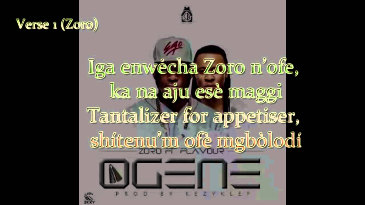 Download Zoro - Ogene Feat Flavour Video