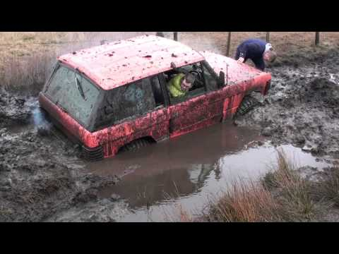 Range Rover Classic 3.9 High speed Mud Run