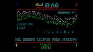 SLOG Coming Soon - Ascendancy Creative Labs [#zx spectrum AY Music Demo]