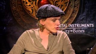 Lily Collins, Jamie Campbell Bower, and Kevin Zegers talk The Mortal Instruments