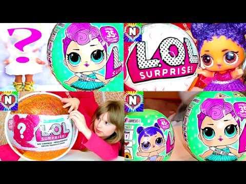 Видео, Куклы ЛОЛ СЮРПРИЗЫ и БАРБИ Игрушки Куклы LOL Surprise Dolls Видео для Детей Пупсики ЛОЛ