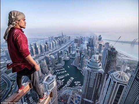 PARKOUR ON HIGH BUILDINGS