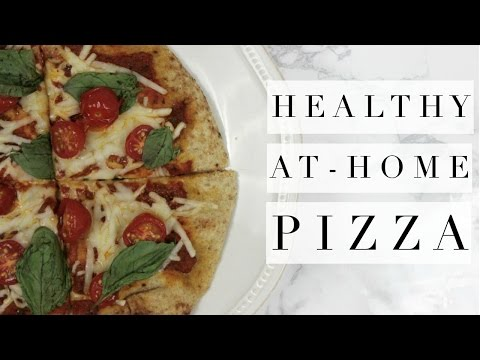 EASY HEALTHY AT HOME PIZZA