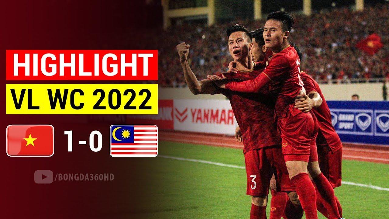 """Highlight Việt Nam 1 – 0 Malaysia: QUANG HẢI Ghi Siêu Phẩm Đẳng Cấp NHẤN CHÌM """"Hổ Giấy"""" Malaysia"""