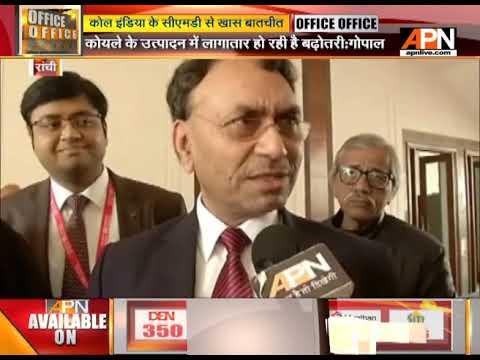 APN Speaks up with Coal India, CMD Gopal Singh on Coal India