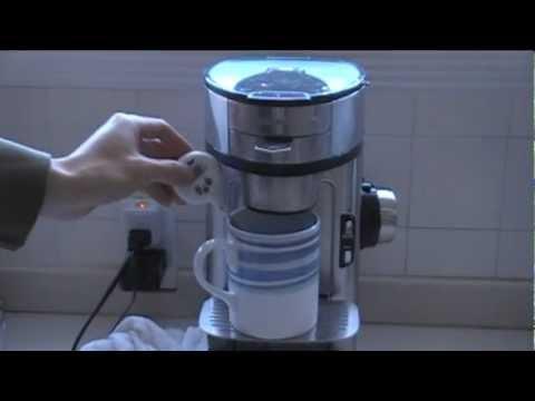 Coffee Maker Demonstrations : Hamilton Beach Single Scoop Coffee Maker Review and Demonstration - YouTube