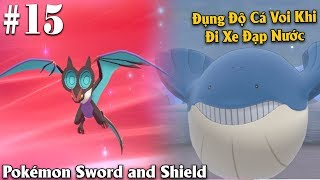 Pokémon Sword and Shield #15 - Evolution Notbat to Noivern and Water Bicycle