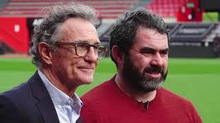 Déjeuner d'exception au Stade Toulousain avec Julien Duboué, Guy Noves et Emile Ntamack
