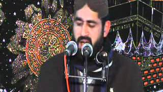 Syed Zulfiqar Hussain Shah Bukhari in Noorani Masjid