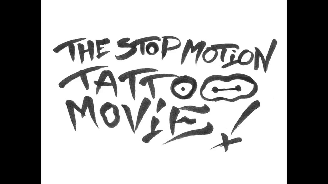 OUR BODY : The Stop Motion Tattoo Movie !! (Drawing Edit)