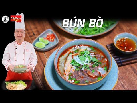 Cách nấu Bún Bò thơm ngon - Cách nấu nhanh và đơn giản tại nhà - Thầy Y | Kỹ Năng Vào Bếp