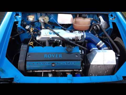 Classic mini 1.8 16v turbo K series walk around